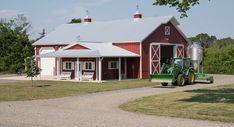 Morton Buildings farm shop in Gainesville, Virginia.