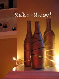 Thoughts by a Petite Brunette: Friday Pinspiration {Wine Bottles}
