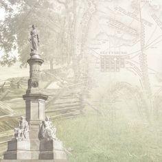 Paper House Productions - Civil War Collection - 12 x 12 Paper - Gettysburg Map at Scrapbook.com $0.69