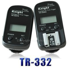 Our PIXEL Knight TR-332 2.4GHz Wireless Remote Shutter & Flash Trigger for Canon has a Maximum shutter synchronization speed of up to 1/8000s.