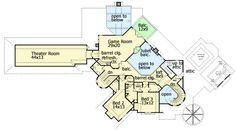 Loaded With Amenities - 58558SV | Architectural Designs - House Plans