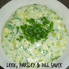 Leek, Parsley & Dill Sauce