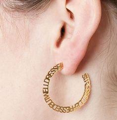 Wedding Fun, Hoop Earrings, Jewelry, Fashion, Moda, Jewlery, Jewerly, Fashion Styles, Schmuck