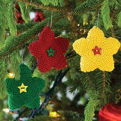 Bright Star Ornament | AllFreeCrochet.com