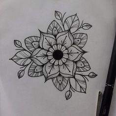 #tattooapprentice #dotwork #stipple #mandala #flower #apprentice #stippling #drawing