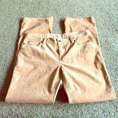 Loft tan corduroy pants Modern boot style LOFT Pants Boot Cut & Flare