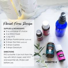 Geranium essential oil is refreshing for your skin. Use this Facial Toner DIY Recipe after your cleansing regimen with the new reformulated Orange blossom facial wash. Essential Oils For Face, Geranium Essential Oil, Young Living Essential Oils, Toner For Face, Facial Toner, Facial Wash, Belleza Natural, Back To Nature, Diy Skin Care