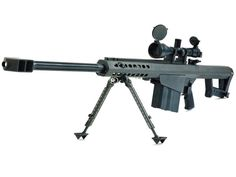 Barrett M82A1 - When you absolutely positively have to kill anything from over a mile away.