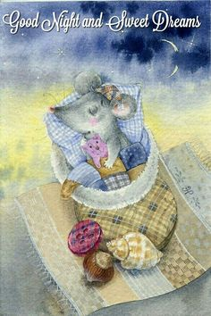 Good Night and Sweet Dreams mouse in slipper Good Night Sweet Dreams, Good Night Moon, Good Morning Good Night, Fantasy Character, Good Night Greetings, Pet Mice, Hamster, Nighty Night, Cute Mouse