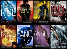 The Maximum Ride series  by James Patterson:  This series is packed full of action and just when you think everything has died down, bam! You're wrong. If you like action, a little romance, and genetically enhanced kids with wings, that grew up in a lab, kicking butt as they save the world.. Then this might be the book for you.  Keep in mind that it is highly addictive and you won't be able to put it down so buy the entire series and read in the summer so that you actually have time for it…