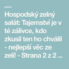 Hospodský zelný salát: Tajemství je v té zálivce, kdo zkusil ten ho chválil - nejlepší věc ze zelí! - Strana 2 z 2 - youi.cz Teen