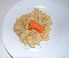 Crab salmon *risotto*