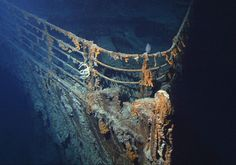 Discovery of Titanic Wreck  The wreck of the RMS Titanic was finally discovered in 1985 by Robert Ballard after many years of failed attempts by various expeditions. In order to find the wreckage he had to device new technology which he called Argo, a deep-sea vehicle that could be controlled remotely.