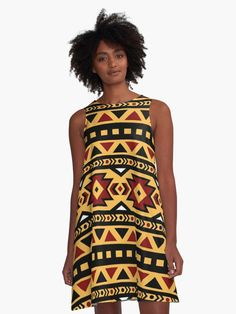 Brown Ethnic Print Design by Freepik • Also buy this artwork on apparel, stickers, phone cases, and more.