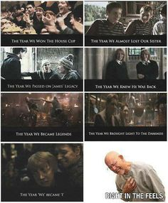 Fred and George Weasley, and the year they... ALL THE FEELS!!!