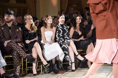 Morena Baccarin Photos Photos - Brad Walsh, Alicia Silverstone, Alexa Chung, Juliette Lewis and Morena Baccarin attend the Christian Siriano show during, New York Fashion Week: The Shows at The Plaza Hotel on February 11, 2017 in New York City. - Christian Siriano - Front Row - February 2017 - New York Fashion Week: The Shows