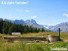 Rendez-vous n°5 : à la claire fontaine / sur les pentes de Puy Saint-Vincent (Hautes Alpes)
