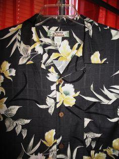 Amazing Vintage Hawaiian Shirt TOMMY BAHAMA  by oldmagicchest, $54.99 Vintage Hawaiian Shirts, Mens Hawaiian Shirts, Kimono Shirt, Shirt Dress, Tropical Prints, Line Store, Aloha Shirt, Japanese Kimono, Tommy Bahama