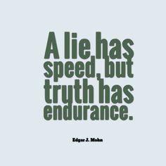 a lie vs truth