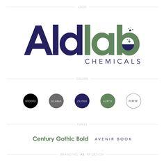 Logo Design / AldLab Chemicals #business #branding