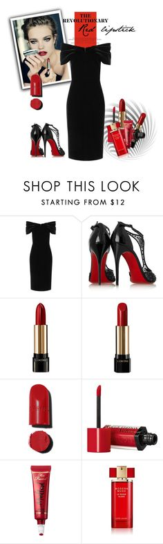 """The Revolutionary Red Lipstick"" by vittorio-1 ❤ liked on Polyvore featuring beauty, Emilio De La Morena, Christian Louboutin, Lancôme, Chanel, Bourjois, Too Faced Cosmetics and Estée Lauder"
