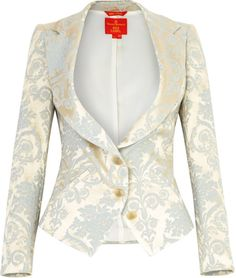 Love this: Brocade Blazer @Lyst
