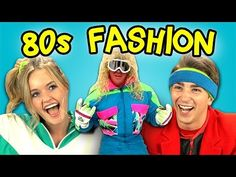 Modern Teens React to and Try on 1980s Fashion