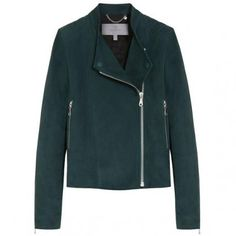 16 Ways to Wear Suede for Spring - Mulberry Biker Jacket from #InStyle