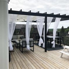 Pergola attached to house plans ID: 2473470935 ., Pergola attached to house plans ID: 2473470935 There are several items that can certainly as a final point total the backyard, for instance an antique white-colored picket. Diy Pergola, Black Pergola, Steel Pergola, Pergola Swing, Deck With Pergola, Outdoor Pergola, Pergola Lighting, Covered Pergola, Corner Pergola
