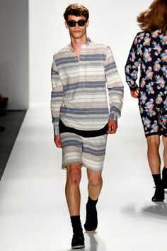 #TimoWeiland keeps comfort and ease in mind when designing for men, Spring 2012 RTW
