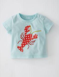 Big Animal Appliqué T-shirt/Boys at Boden