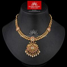 Classic Antique Kundan With Pearl Drops Silver Jewellery Indian, Gold Jewellery Design, Gold Jewelry, Temple Jewellery, India Jewelry, Teen Jewelry, Baby Jewelry, Antique Jewellery, Gold Bangles