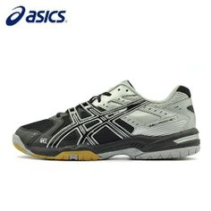 Asics Men Indoor Sports Shoes Gel-Rocket 6 Volleyball Shoes - Blue Products- - TopBuy.com.au