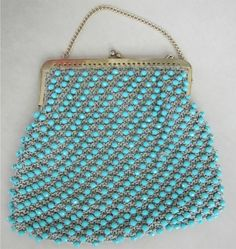 Vintage Beaded Purse made in Italy exclusively for Ritter