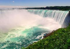 Explore all of Niagara Parks located in Niagara Falls, Ontario, Canada, from the lower observation deck at the Canadian Horseshoe Falls to incredible hiking trail at the Niagara Glen. Your Niagara adventure awaits! Niagara Falls Attractions, Bus System, Newfoundland, Adventure Awaits, Hiking Trails, Travel Destinations, Around The Worlds, Canada, The Incredibles
