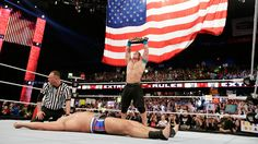 Extreme Rules 2015: John Cena vs Rusev - Russian Chain Match for the WWE United States Championship