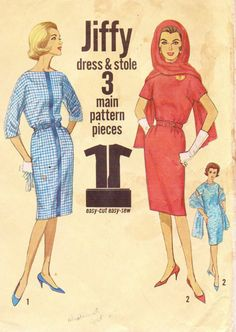 1960s Vintage Simplicity Sewing Pattern 4790 Womens by CloesCloset, $14.00