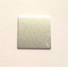 Aluminum Square Stamping Blank 1 1/2 or 1.5 inch 14g by iamdarcie
