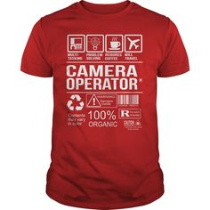 Awesome Tee For Camera Operator T-Shirts, Hoodies. BUY IT NOW ==► Funny Tee Shirts
