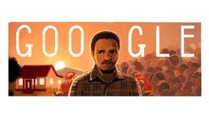 """18 Dec 2016 - Google Doodle commemorates the 70th birthday of SA Black Consciousness leader Steve Biko who was killed in detention during the anti-apartheid struggle """"On the 70th anniversary of Biko's birth, we remember his courage and the important legacy he left behind. Thank you, Steve Biko, for dedicating your life to the pursuit of equality for all,"""""""