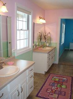 30 best jack jill bathrooms images bath room bathroom - Jack and jill restrooms ...