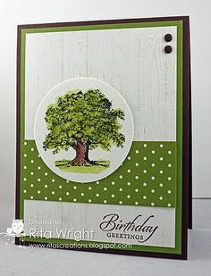 Stampin' Up! Summer Silhouettes with Hardwood | Rita's Creations | Bloglovin'