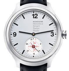 The smartwatch by Swiss brand Mondaine is available for exclusive pre-order at Dezeen Watch Store, and customers benefit from off the standard price Modern Watches, Cool Watches, Watches For Men, Simple Watches, Dezeen Watch Store, Swiss Watch Brands, Beautiful Watches, Omega Watch, Smart Watch