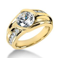 Wanna gift him something special?? This diamond ring is a perfect one to show him your love..