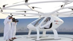 An unmanned taxi drone has had a maiden flight in Dubai with plans to roll it out within five years.