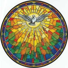 """Holy Spirit.    """"Worry is a weakness from which very few of us are entirely free. We must be on guard against this most insidious enemy of our peace of soul. Instead, let us foster confidence in God, and thank him ahead of time for whatever he chooses to send us.""""   Ven. Solanus Casey, OFM Cap."""