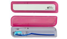 Price: $14.99  Available: Now  Why we like it: The ultraviolet scanner kills 99.9% of bacteria, which can build up when traveling with wet toothbrushes. It runs on two AA batteries. Simply close the case and disinfecting takes five minutes.