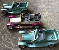 3 MATCHBOX One 1906 Y-10 Two 1907 Y-15 Rolls Royce Cars Models of Yesteryear #Matchbox #RollsRoyce