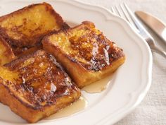 Pain perdu au miel & whisky