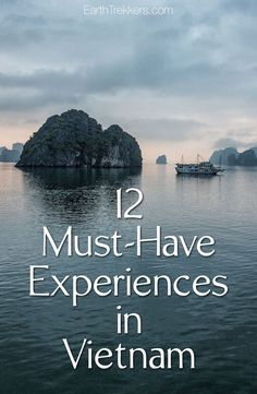 Vietnam Must-Have Experiences: Halong Bay, Hanoi, Hoi An, Mekong Delta, Hue, Saigon, and more.
